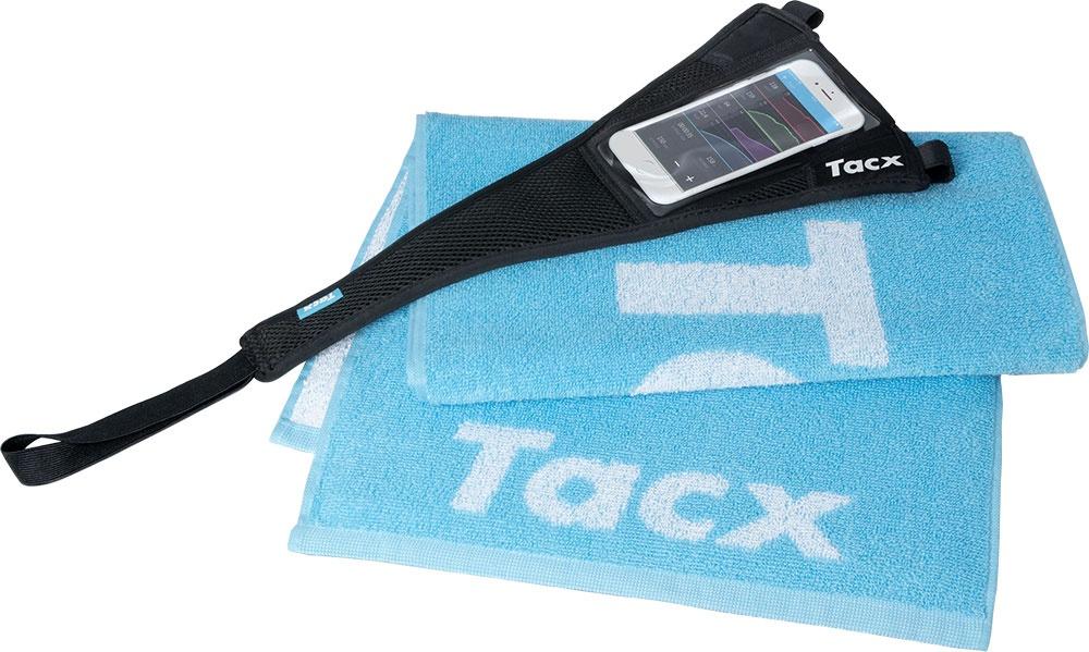 Tacx svedsæt (inkl. håndklæde og smartphone-svedcover)