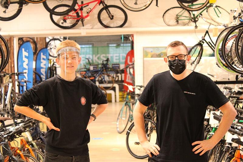 Mundbind hos Cykelexperten (1)