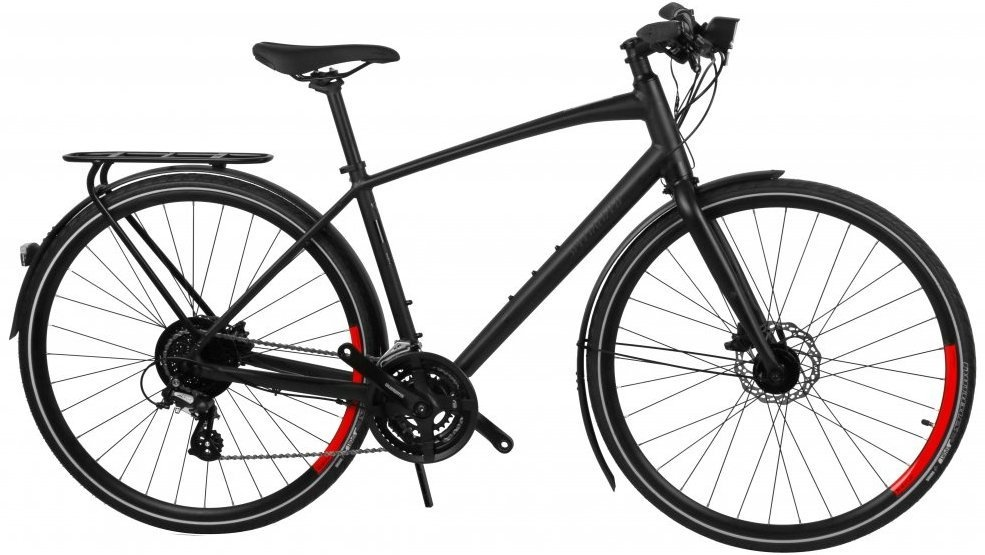 Specialized Sirrus Equipped Herre 2020, sort