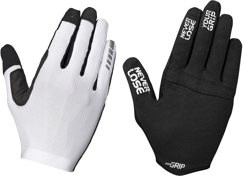 GripGrab Aerolite InsideGrip Long Finger Cykelhandske - Hvid