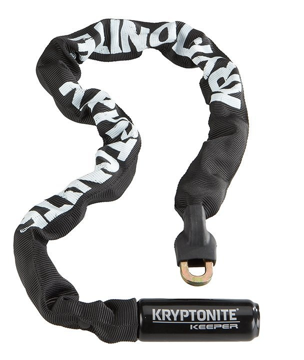 Kryptonite Keeper 785 Kædelås, Sort