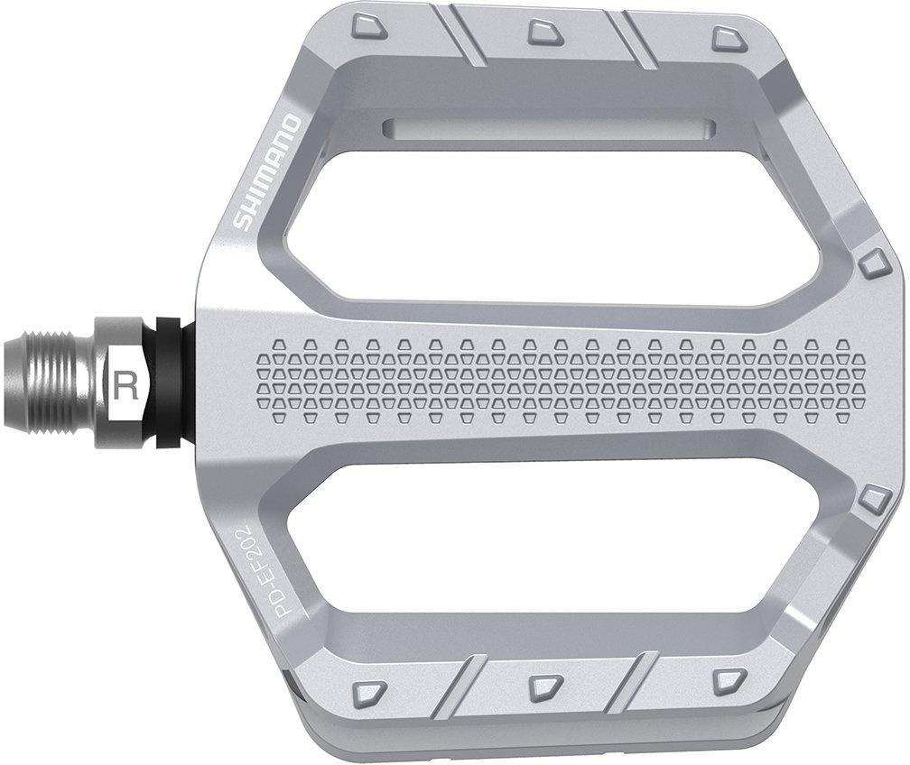 Shimano Pedal Flat PD-EF202 - sølv