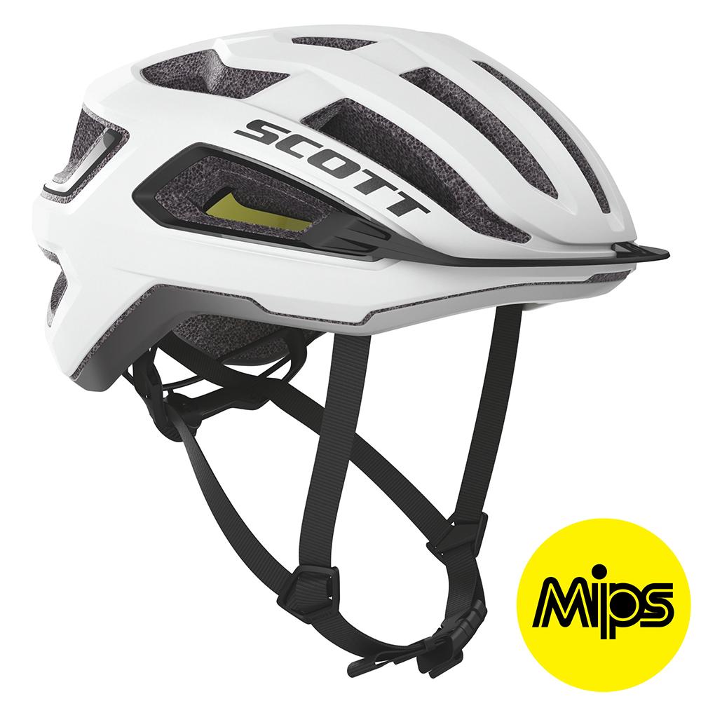 Scott ARX Plus (MIPS) Hjelm '20 - Hvid