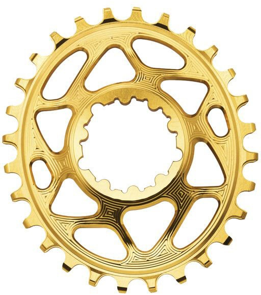 AbsoluteBlack Chainring Direct Mount Singlespeed 32T - Oval - Shimano - Guld