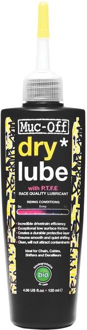 Muc-Off Dry Lube Olie - 120 ml