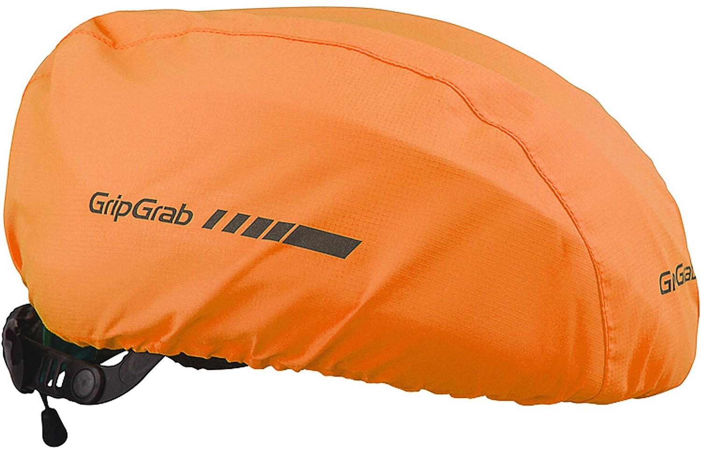 Køb GripGrab Vandtæt Hi-Vis Helmet Cover – Orange