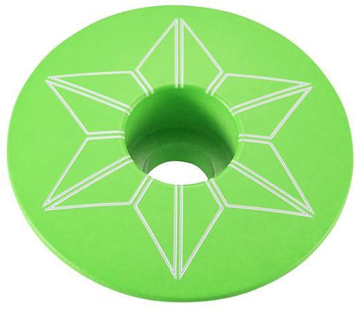 Supacaz Top Cap Star Capz - Grøn