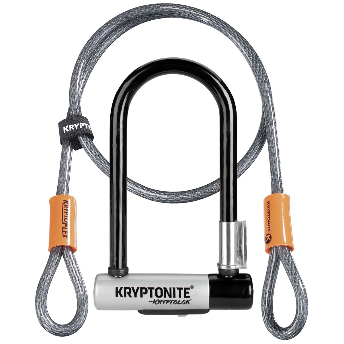 Kryptonite Bøjlelås Mini7 m. Wire