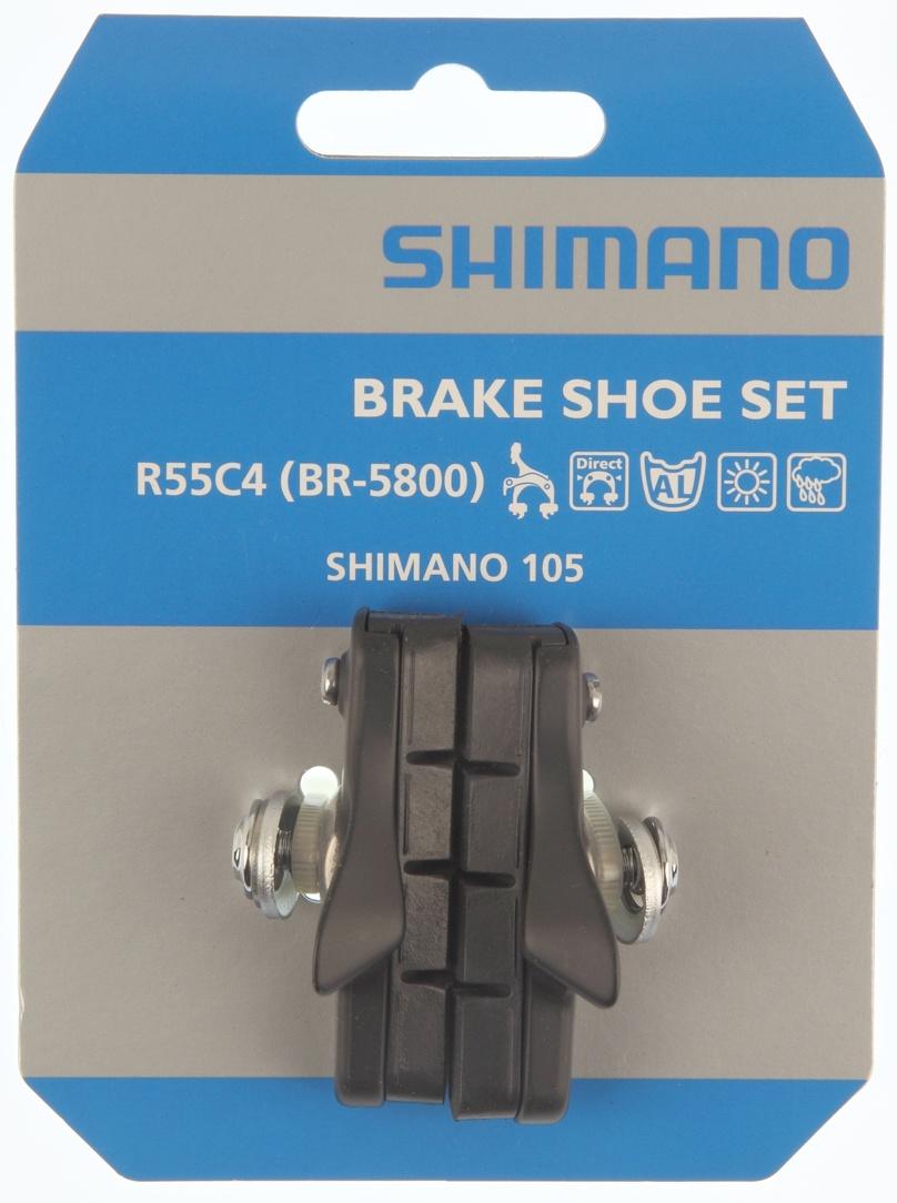 Shimano Bremsesko R55C4 105 BR5800 Sort
