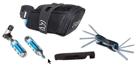 PRO Bikegear Kombipakke Co2 pumpe, Taske, Co2 og værktøj
