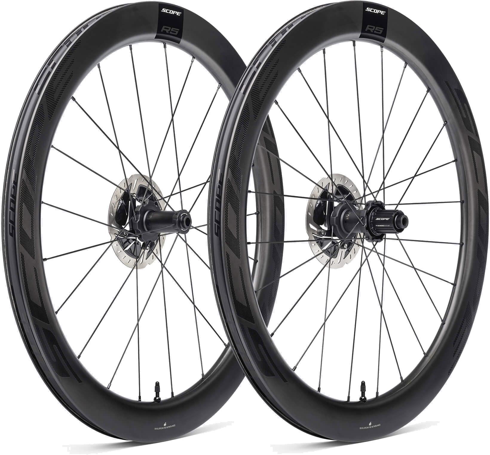 Scope R5 Disc Carbon Hjulsæt