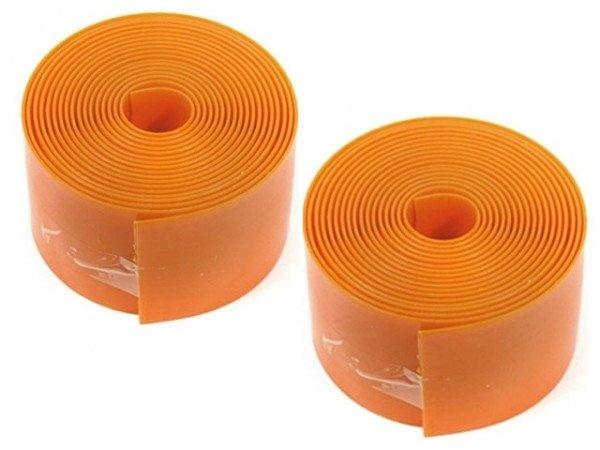CON-TEC Puncture Protection dækindlæg - 37-54 x 559, 39mm (Orange) (Inklusiv Montering)