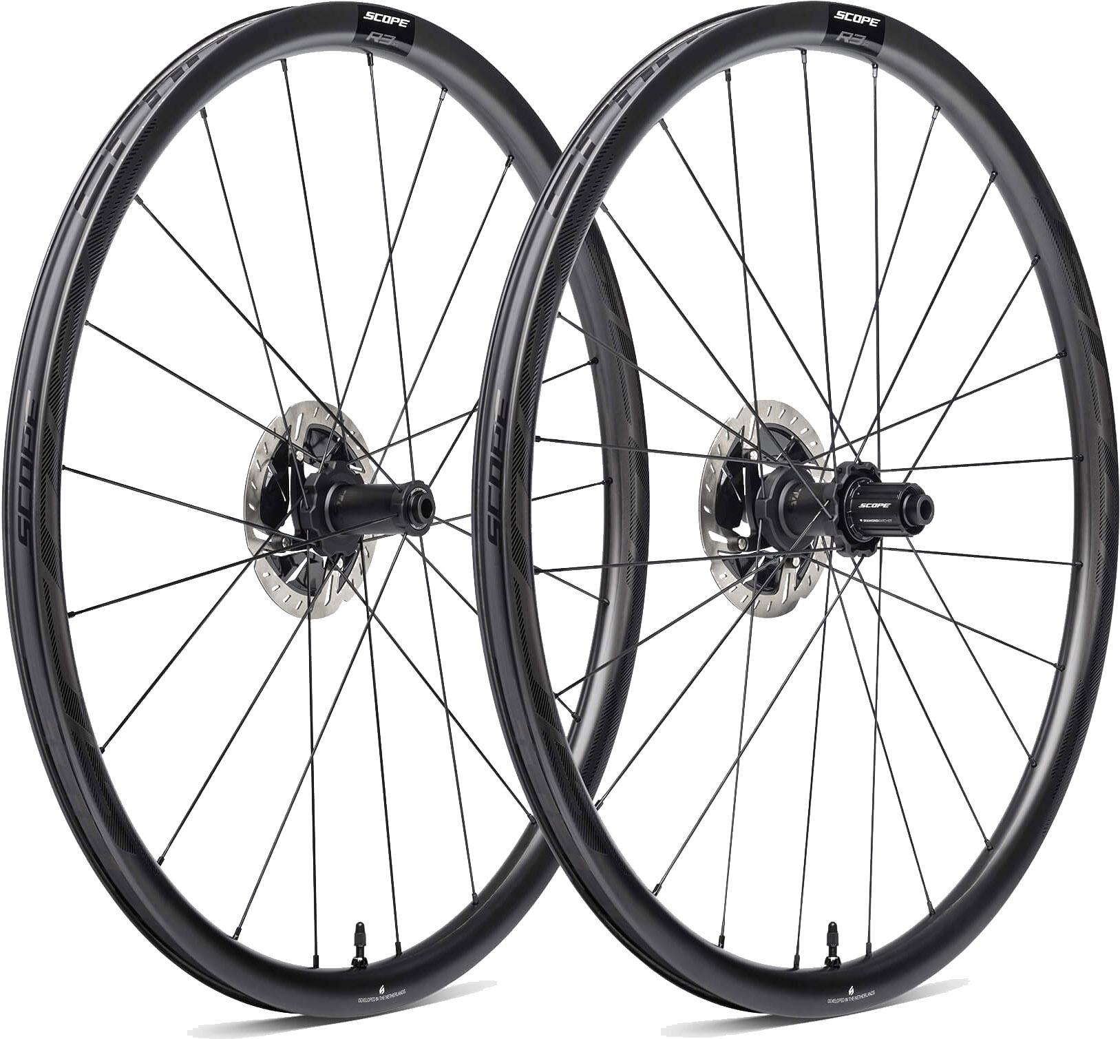 Scope R3. A Disc Carbon Hjulsæt