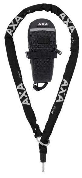 AXA RLC 140 Plug-In kæde & taske