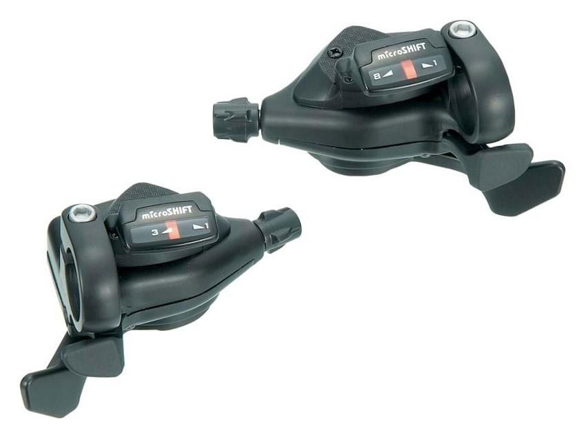 Bike Attitude Microshift 3 X 8sp Skiftegrebssæt