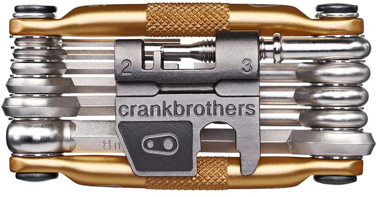 Crankbrothers Multi-tool M17 - Gold