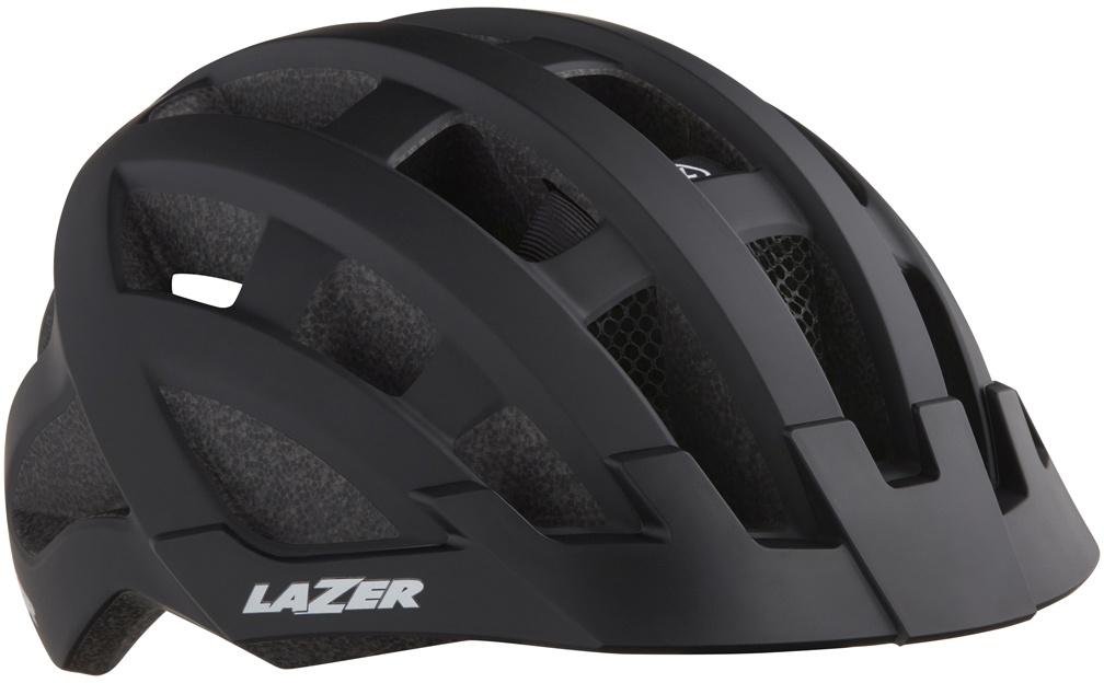 Køb Lazer Petit DLX cykelhjelm m. LED lys – Sort