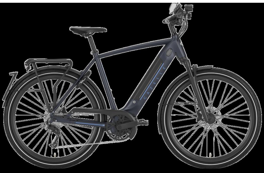 Gazelle Ultimate Speed S10 HMB 45 Km/t Herre 2020 - Blå