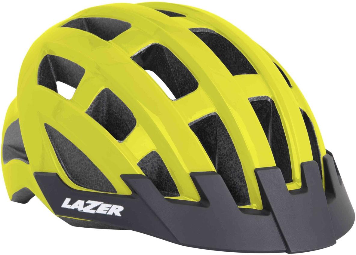Lazer Compact cykelhjelm - Fluo
