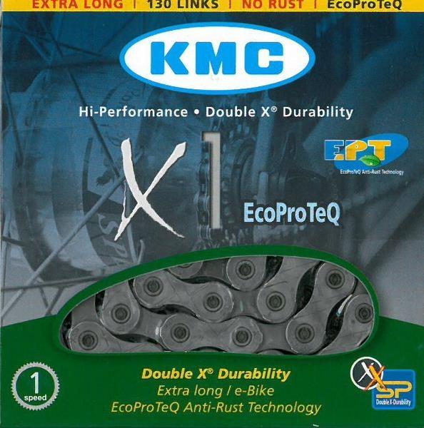 KMC Kæde 1/2x1/8 - til E-bike 1-6 speed 130L (30)