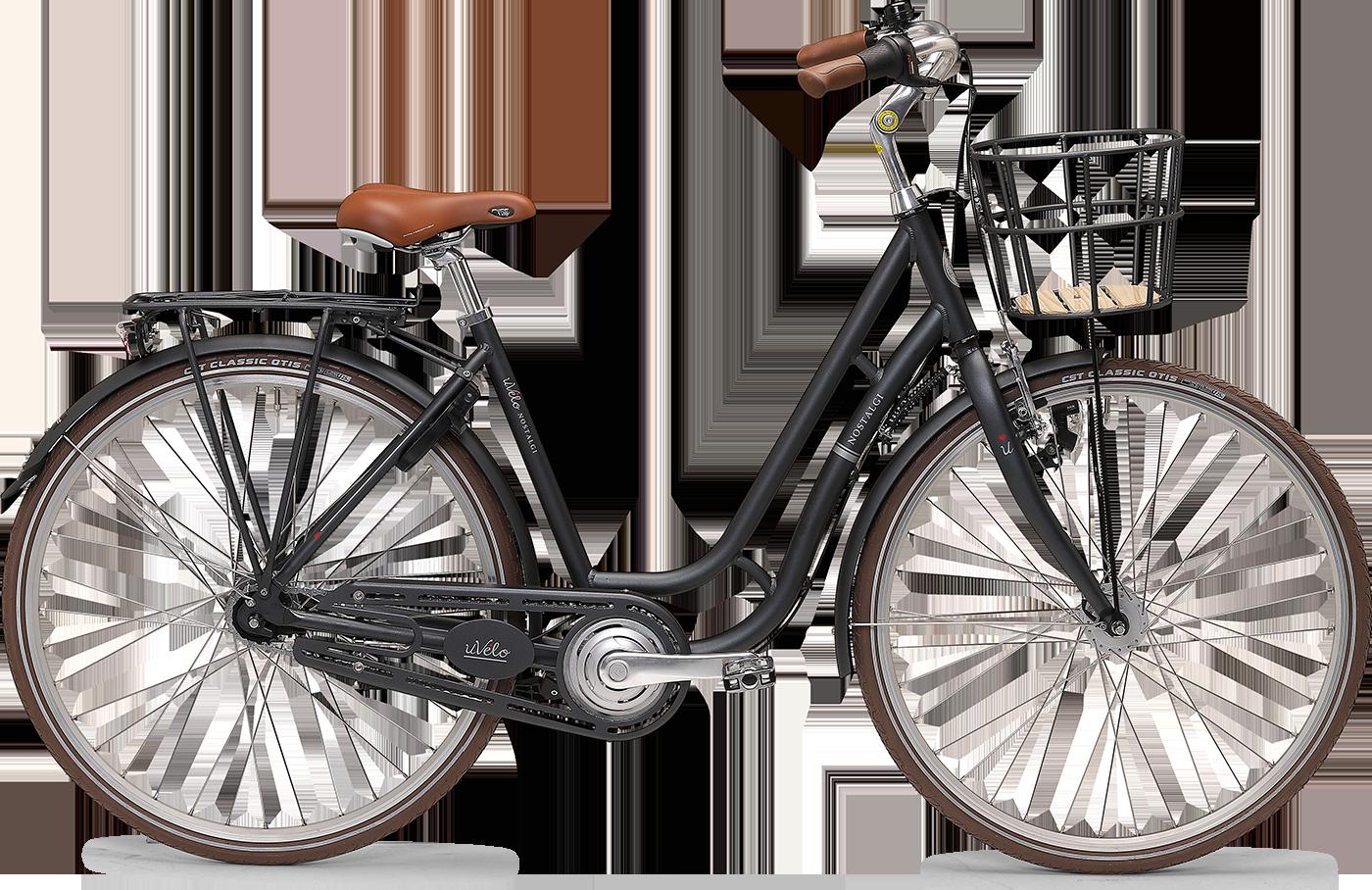 uVélo Nostalgi 7g Dame 2021 - Grå  »  Bike Size: 55cm