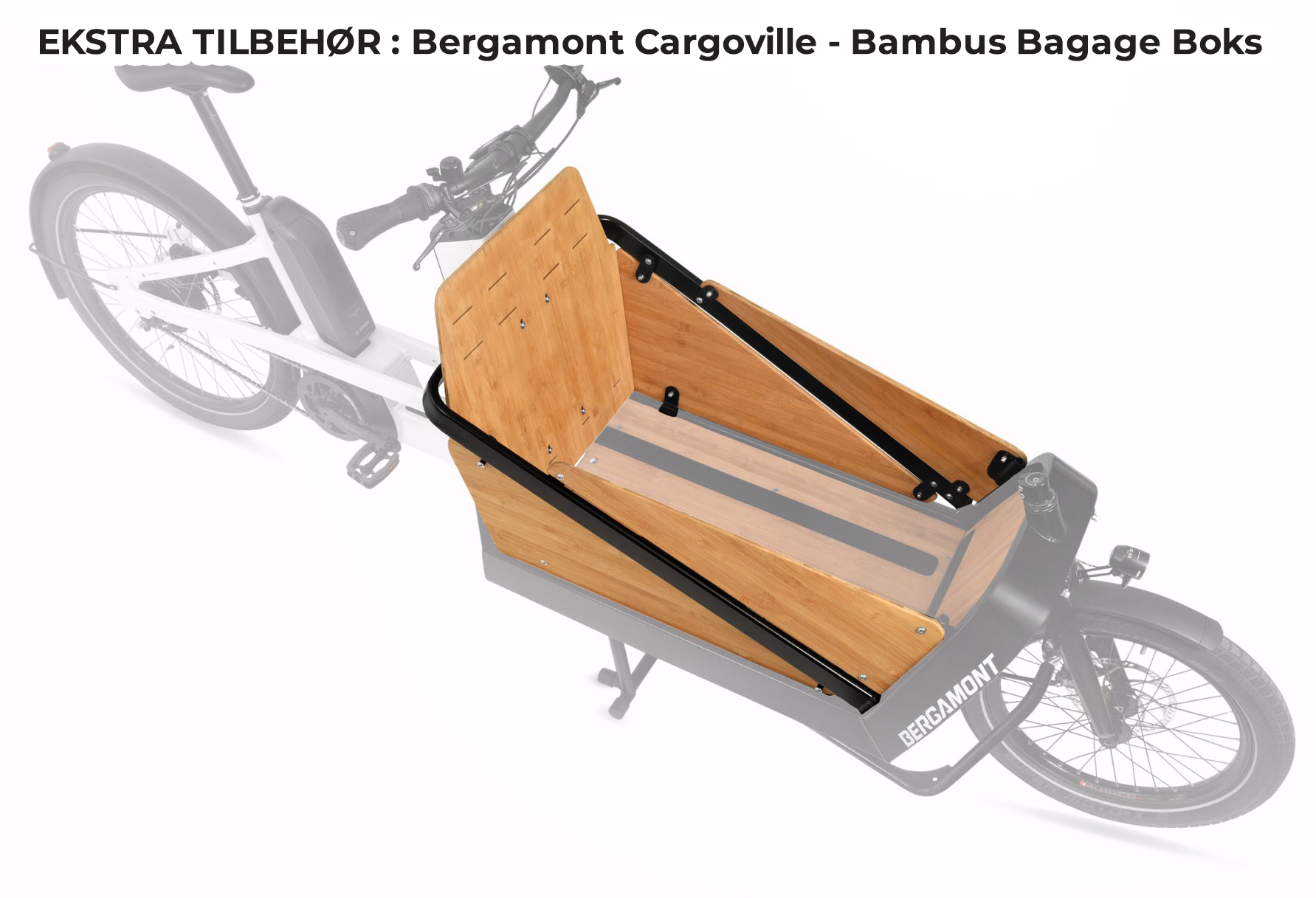 Bergamont E-cargoville LJ 70 Ladcykel