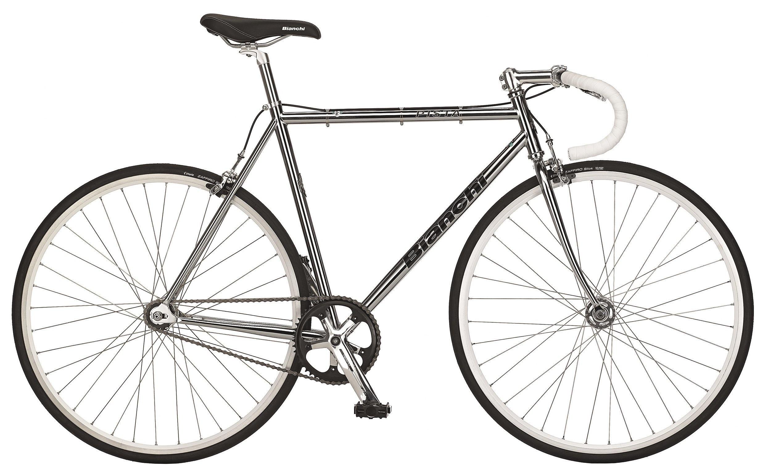 Bianchi Pista Steel 1g - Sølv