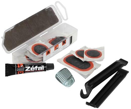 ZÉFAL Repair kit Universal+ inklusiv dækjern