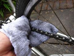 Vedligholdelse af cykelkæde