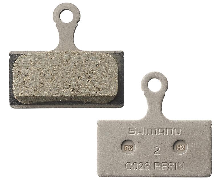 Shimano Skivebremseklods Xt G02s Resin, Br-M985/785/666 Etc