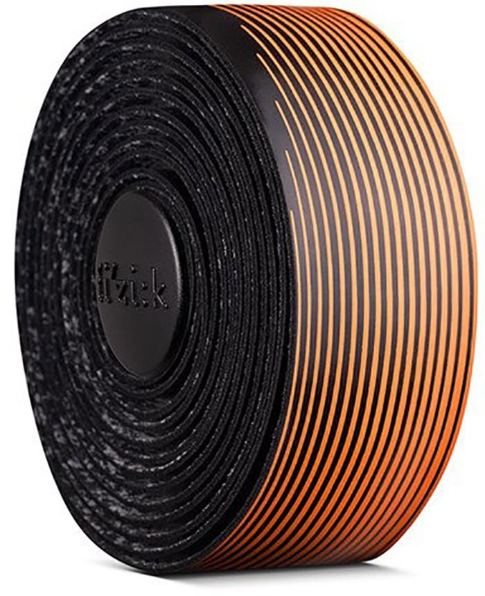 FIZIK Bar tape Vento Microtex Tacky Multi-Color, 2 mm - Sort/Orange