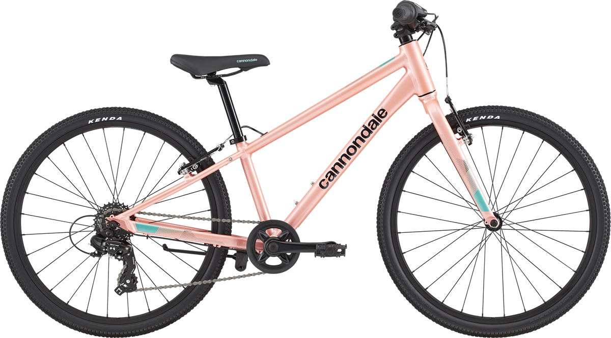"""Cannondale Kids Quick 24"""" 2021 - Pink"""