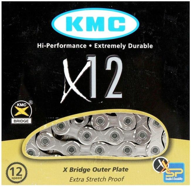 """KMC 11/128"""" 12V 126 Links Cykelkæde"""