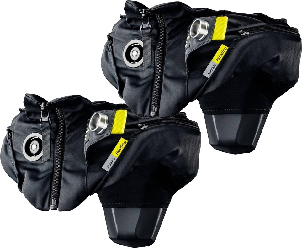 Hövding 3.0 Airbag Cykelhjelm - Familiepakke (2 stk.)